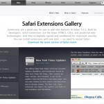 "Apple schaltet ""Safari Extensions Gallery"" auf"