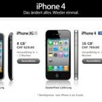 Weisses iPhone 4 aus Apple Online Store entfernt