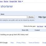 Google schaltet Goo.gl URL Shortener Webseite auf
