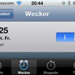 iOS 4.1 Fehler: Zeitumstellung lässt Wecker später klingeln