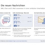 Facebook präsentiert neues Kommunikationssystem