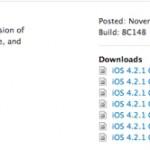Apple gibt iOS 4.2.1 Gold Master frei