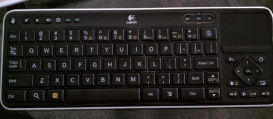 Google TV Keyboard