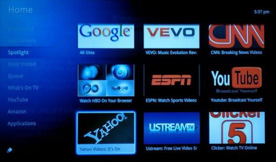 Google TV Services