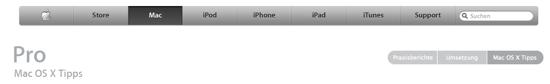 Profi Tipps für OS X