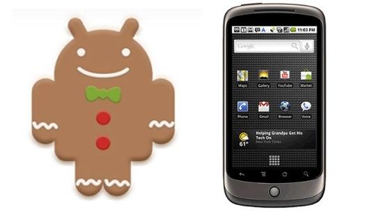 Android 2.3 on Google Nexus One