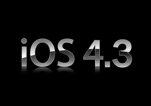 Apple iOS 4.3