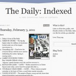 The Daily:Indexed – iPad Zeitung komplett im Browser