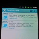 Twitter blockiert Twidroyd App – Konflikt mit UberMedia