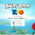 Angry Birds Rio exklusiv im Amazon App Store