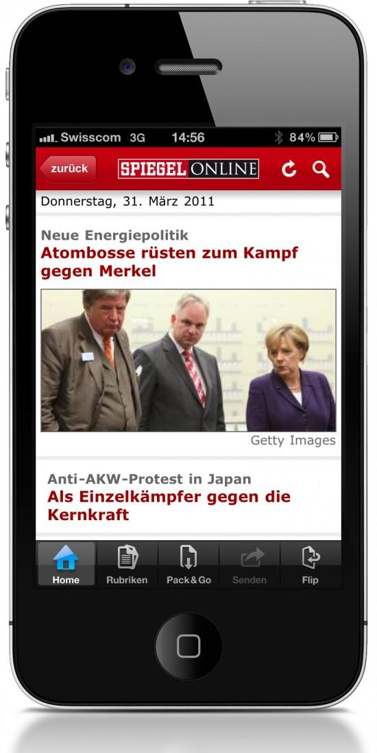 Spiegel Online Spiegel.de App iPhone