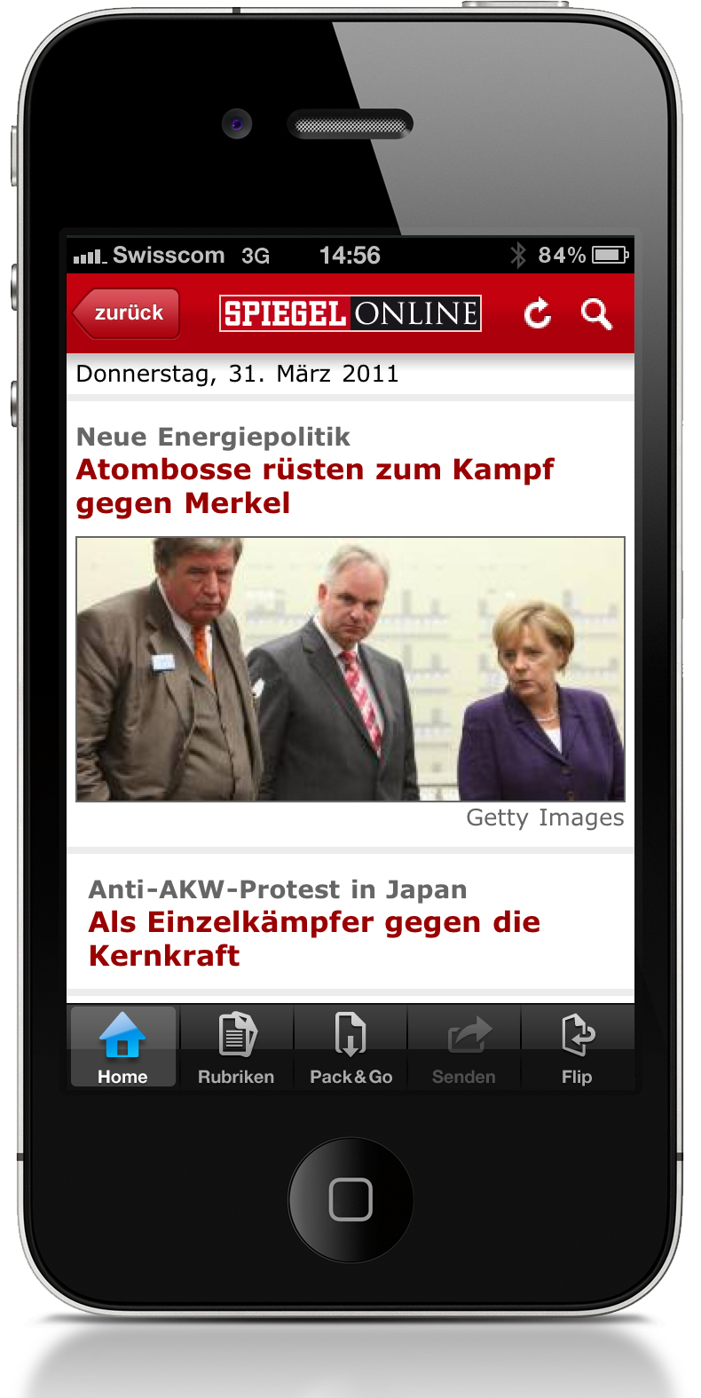 Spiegel online app f rs iphone pflicht f r news junkies for Spiegel news