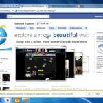 Microsoft Internet Explorer 9 steht zum Download bereit