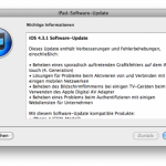 Apple veröffentlicht iOS 4.3.1 – Download Links