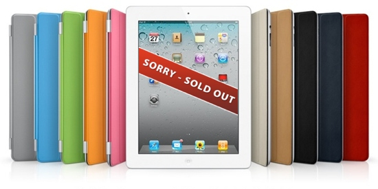 Apple iPad 2 Sold out worldwide