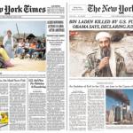 New York Times druckte Zeitung neu wegen Bin Laden