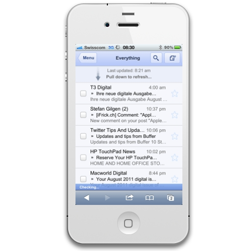 Google Mail Gmail Mobile Client