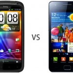 HTC Sensation vs. Samsung Galaxy S II: Die beiden Besten im Vergleich