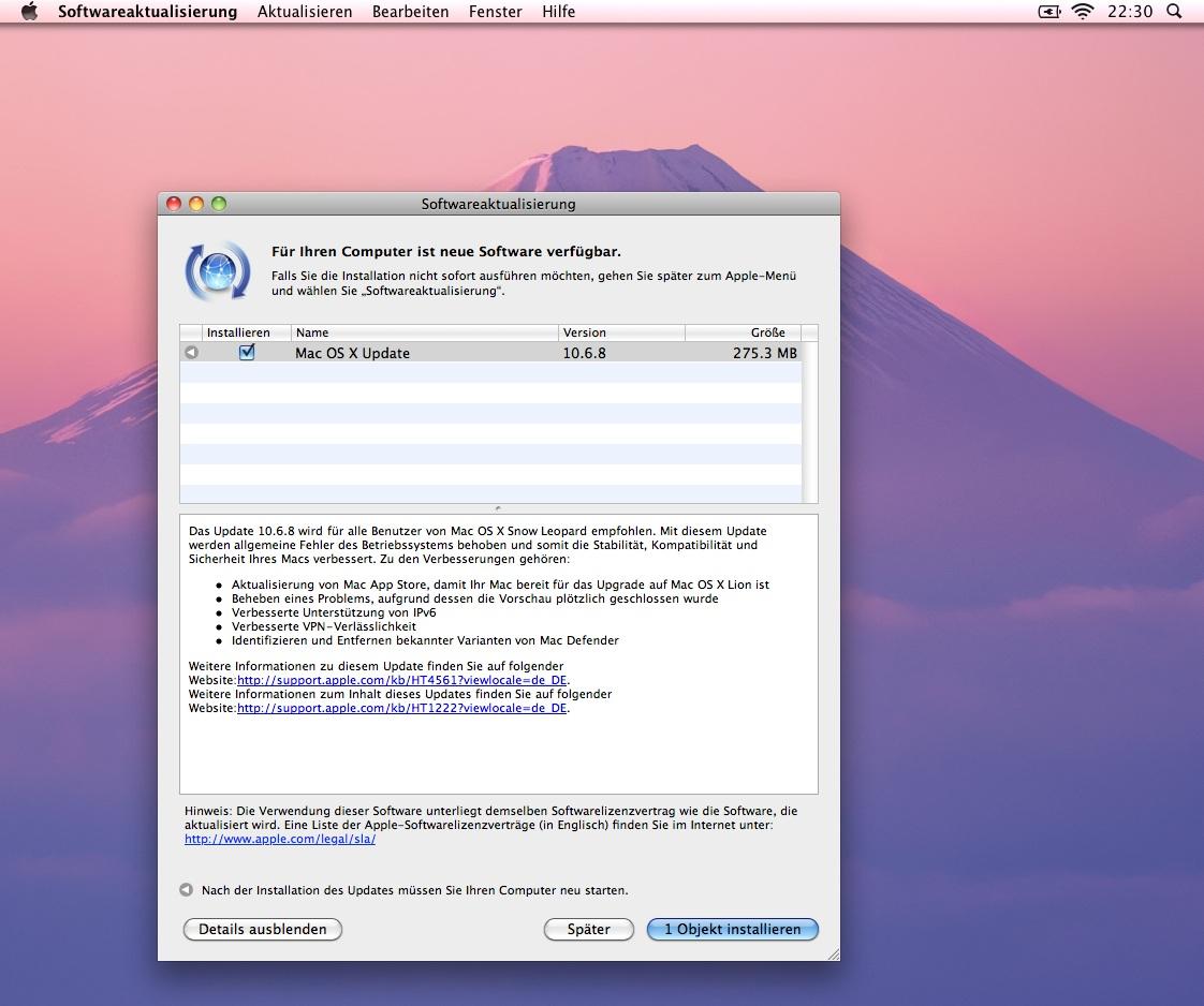 mac os x 10.6.0 software download