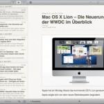Reeder endlich im Mac App Store angekommen