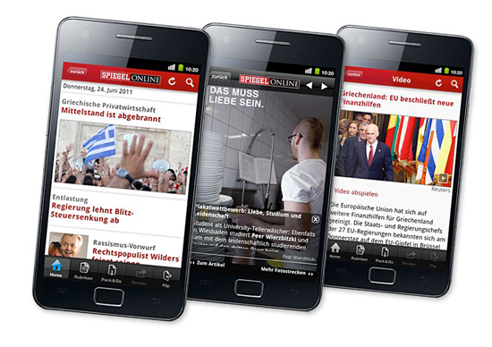 Spiegel online app nun auch f r android for Spiegel app android