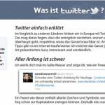 Was ist Twitter ? – Tolle Anleitung von Sandro Würmli