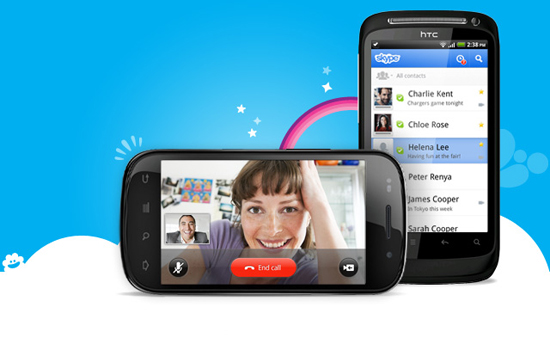 Android Skype 2.0 Videochat