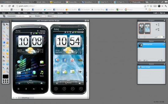 Pixlr WebApp ChromeOS