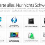 Apple stellt neues MacBook Air vor und das MacBook ein