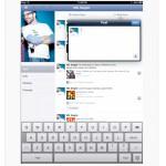 Facebook iPad App in der iPhone App versteckt