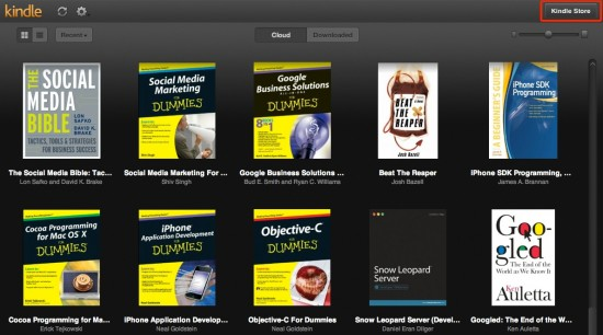 Kindle Cloud Reader Amazon