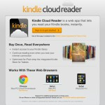 Amazon Cloud Reader: Kindle eBook Reader aus der Wolke