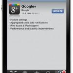 Google+ App für iOS: Update bringt ein bisschen iPad Support