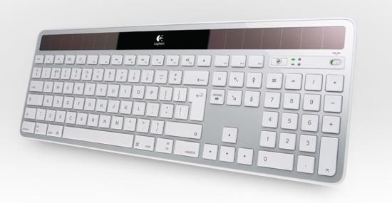 Logitech Mac Solar Keyboard K750