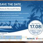 Nokia und Microsoft laden zu Event am 17. August