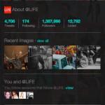 Twitter bringt Bilder Galerie in der Profil Ansicht