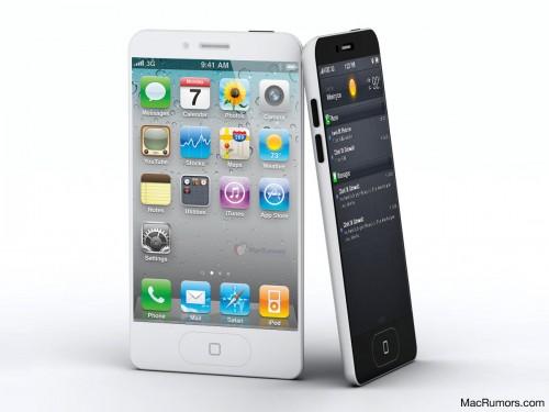 iPhone 5 Rumors Mockup