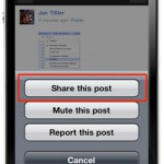 Update der Google+ iOS App bringt Sharing Funktion