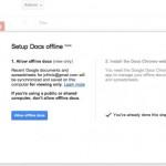 Google Docs nun auch mit Offline Support