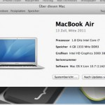 Test MacBook Air Mid 2011: Ein Quantensprung