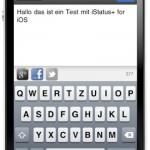 iStatus+: Meldungen gleichzeitig zu Google+, Facebook und Twitter schicken