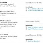 Apple gibt iTunes 10.5 Beta 8 und iWork for iOS Beta 3 für Entwickler frei