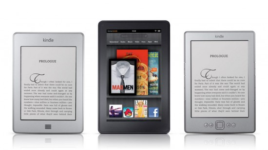 Amazon Kindle Touch Kindle Fire eBook Reader eInk Android