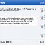Apple gibt OS X 10.7.2 Gold Master für Entwickler frei
