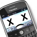Blackberry Ausfall in Europa und Afrika