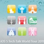 iOS 5: Apple lädt zur Tech Talk World Tour 2011