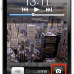 iOS 5: Kamera direkt vom Lock Screen aus aktivieren