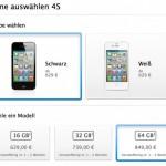 iPhone 4S: Vorbestellung in D,F und GB nun möglich