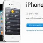 iPhone 4S: Nun auch bei Apple direkt zu bestellen, Lieferzeit 1 bis 2 Wochen
