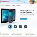 Android.com erstrahlt in neuem Design
